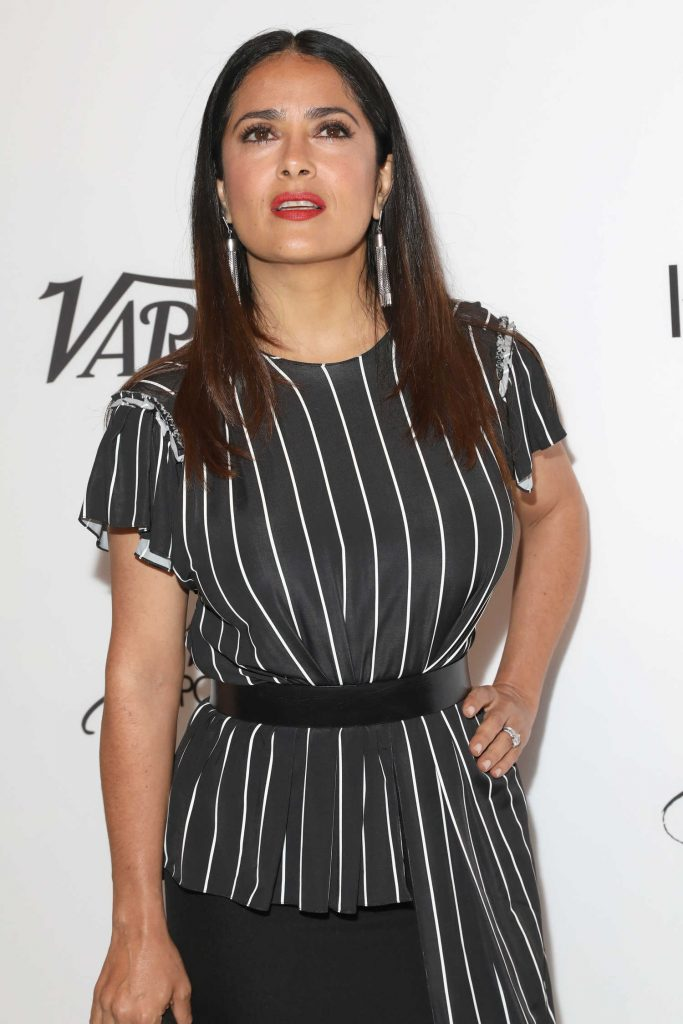 Salma Hayek at Variety's Power of Women NY Presented by Lifetime in New York-5