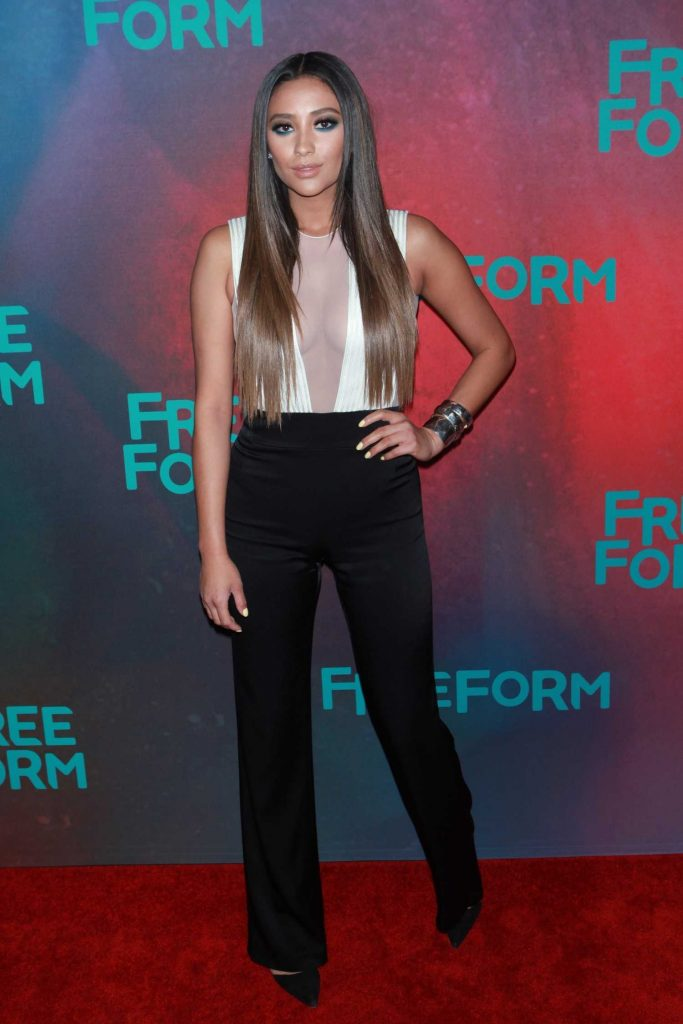Shay Mitchell at the Freeform 2017 Upfront at Hudson Mercantile in New York-1