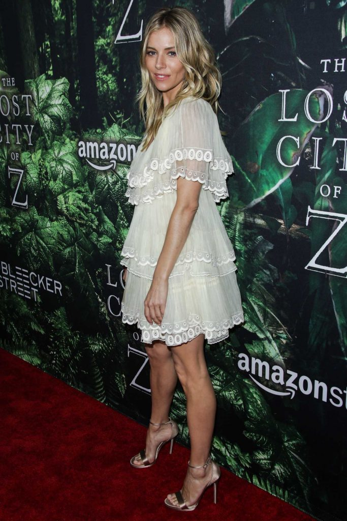 Sienna Miller at The Lost City of Z Premiere in Los Angeles-3