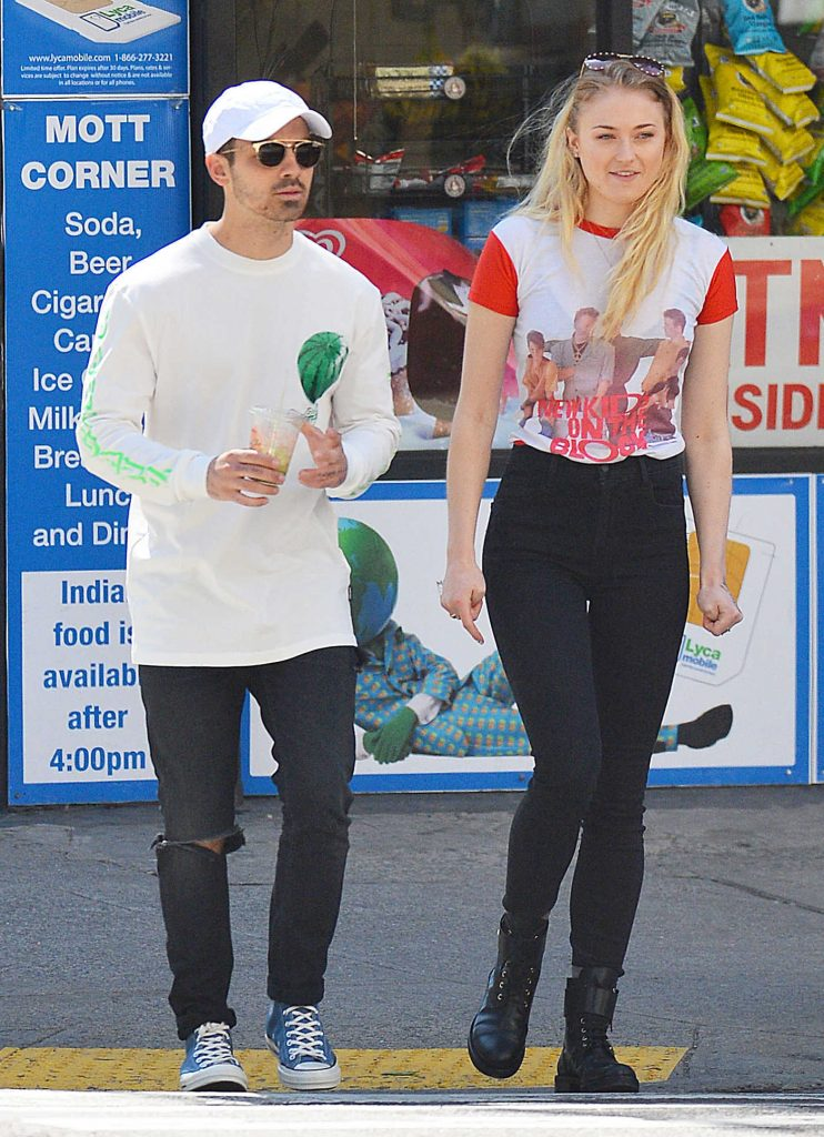 Sophie Turner Takes a Romantic Stroll With Joe Jonas in SoHo-1
