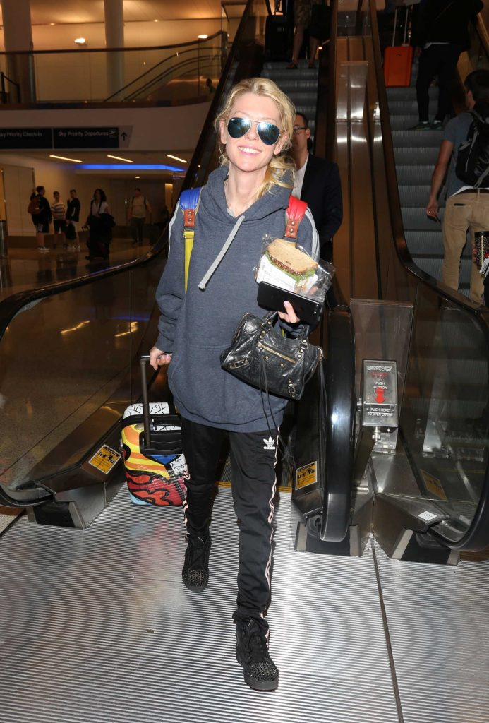 at LAX Airport in Los Angeles 04/03/2017-2