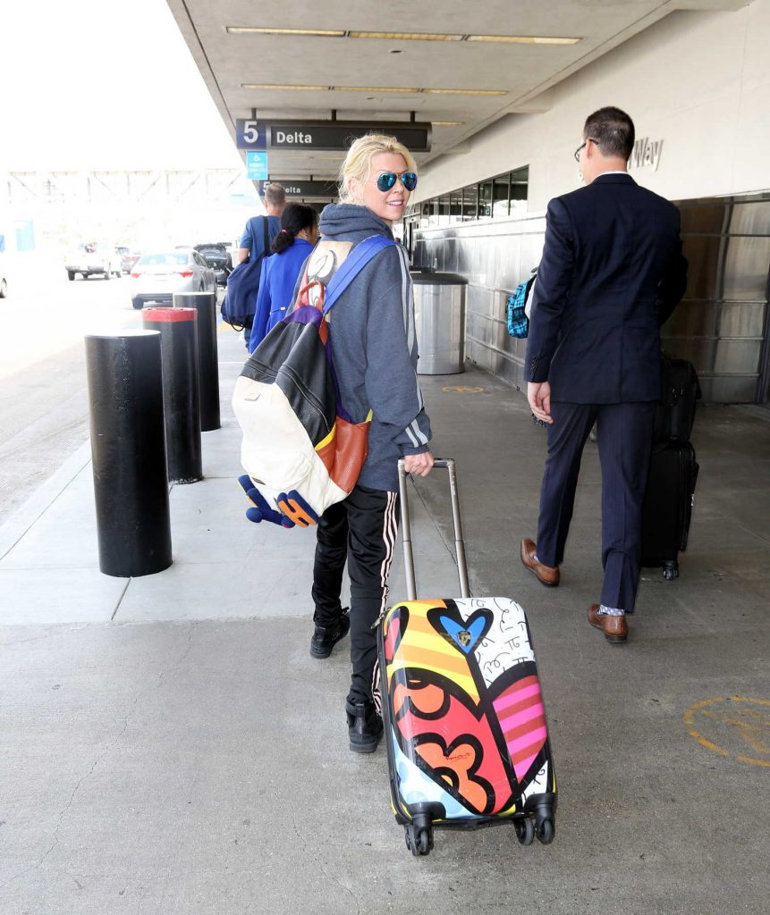at LAX Airport in Los Angeles 04/03/2017-4