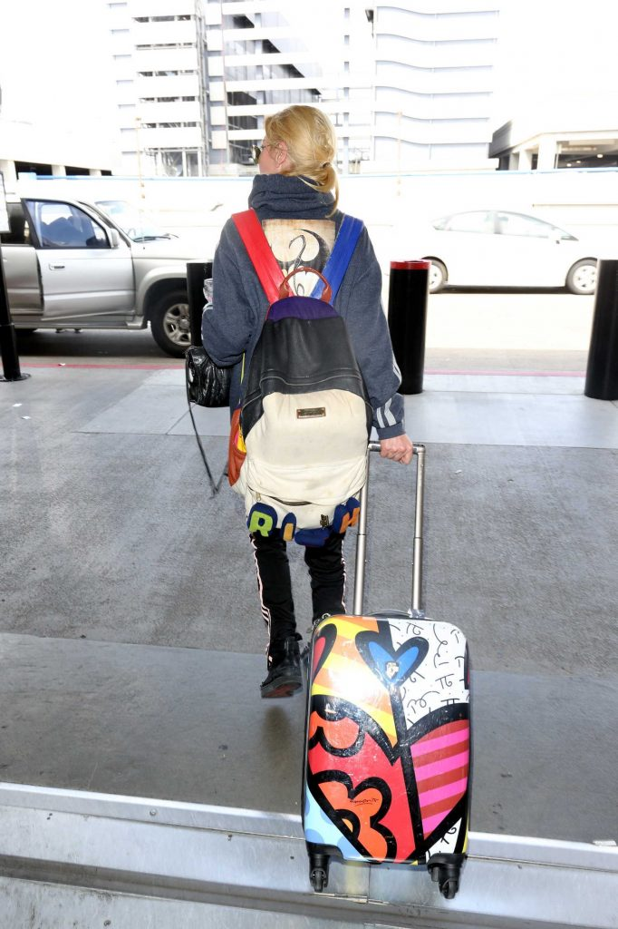 at LAX Airport in Los Angeles 04/03/2017-5