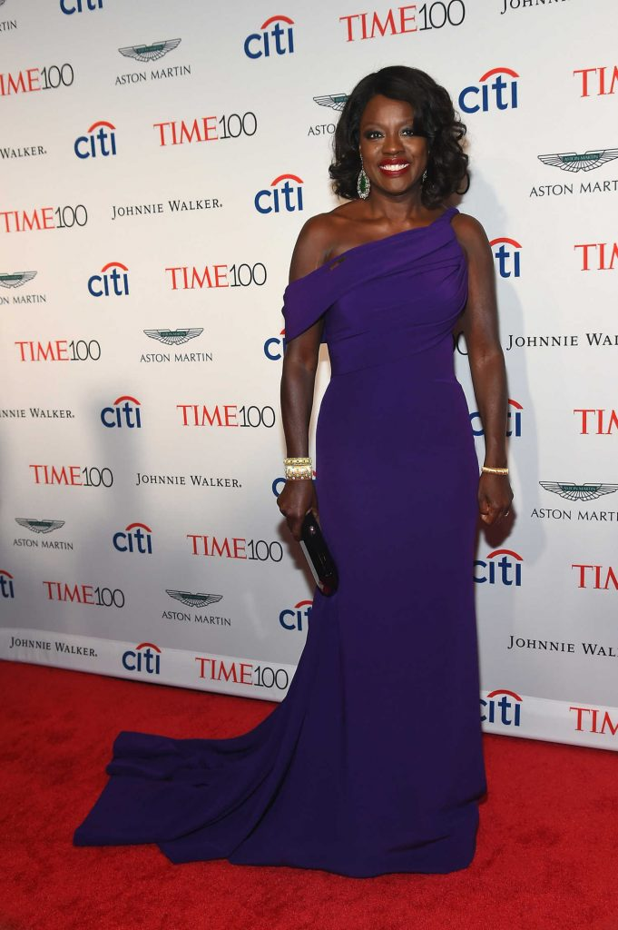 Viola Davis at the 2017 Time 100 Gala at Jazz at Lincoln Center in New York-1