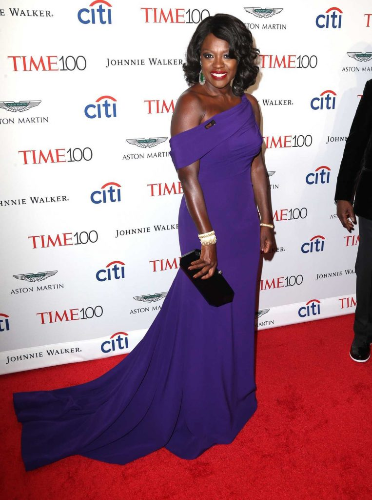 Viola Davis at the 2017 Time 100 Gala at Jazz at Lincoln Center in New York-3
