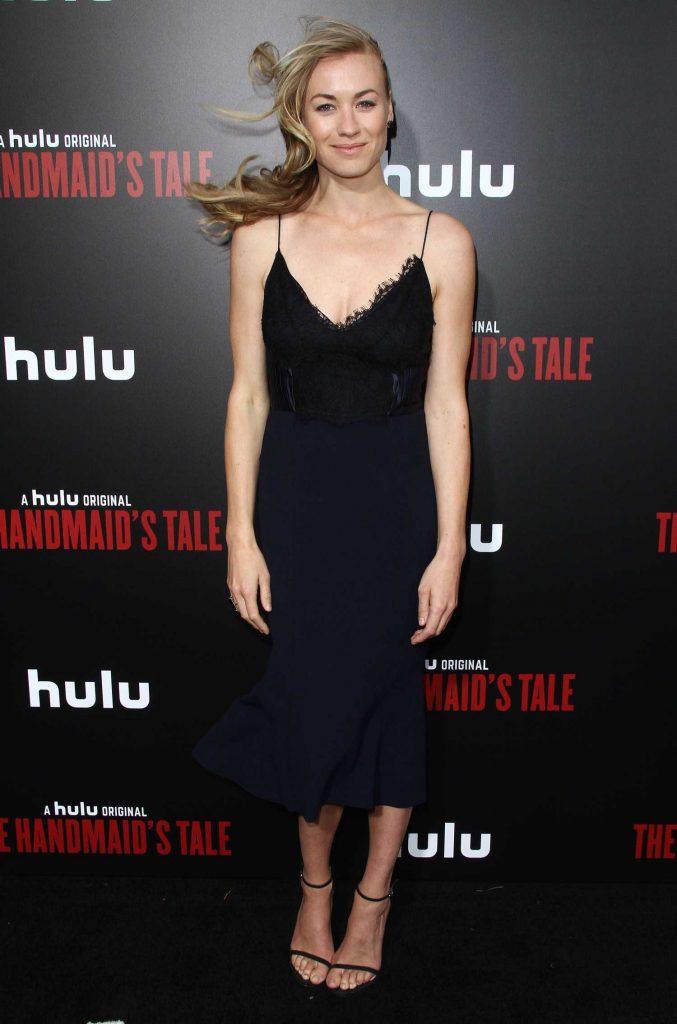 Yvonne Strahovski at The Handmaid's Tale Premiere in Los Angeles-1