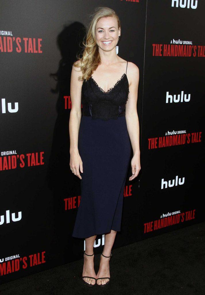 Yvonne Strahovski at The Handmaid's Tale Premiere in Los Angeles-2
