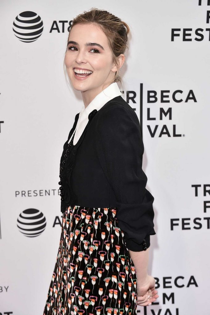 Zoey Deutch at the Flower Screening During the Tribeca Film Festival in New York-4