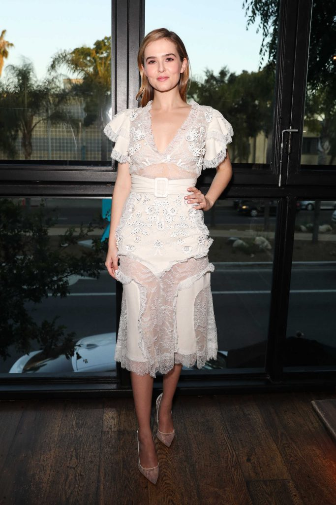 Zoey Deutch at the Marie Claire Celebrates Fresh Faces Event in Los Angeles-3