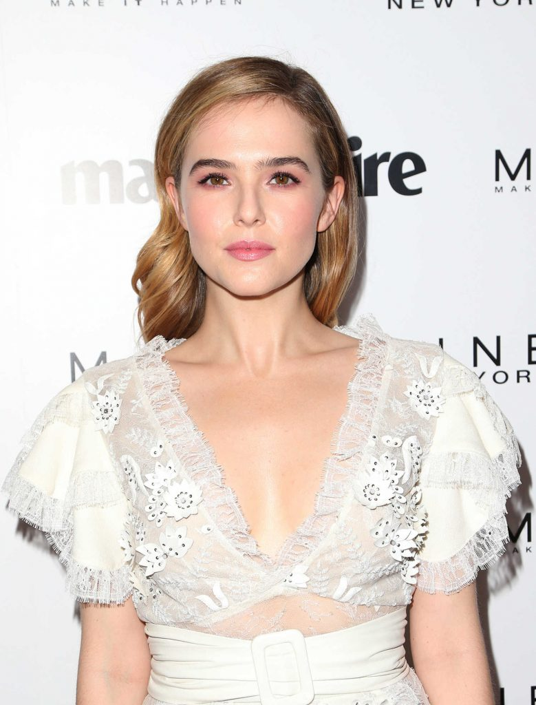 Zoey Deutch at the Marie Claire Celebrates Fresh Faces Event in Los Angeles-4