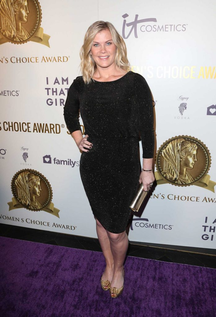 Alison Sweeney at the Women's Choice Awards in Los Angeles-1