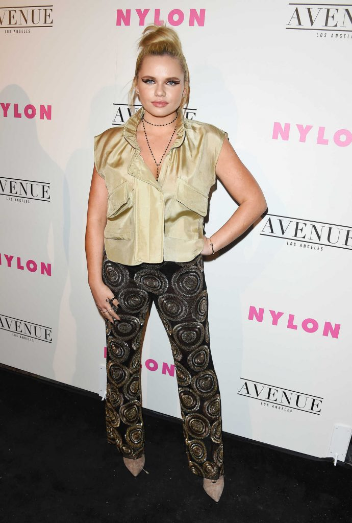 Alli Simpson at the Nylon Young Hollywood Party in Los Angeles-1