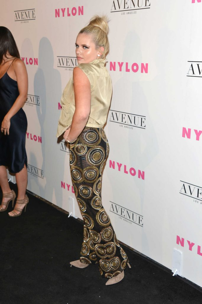 Alli Simpson at the Nylon Young Hollywood Party in Los Angeles-3