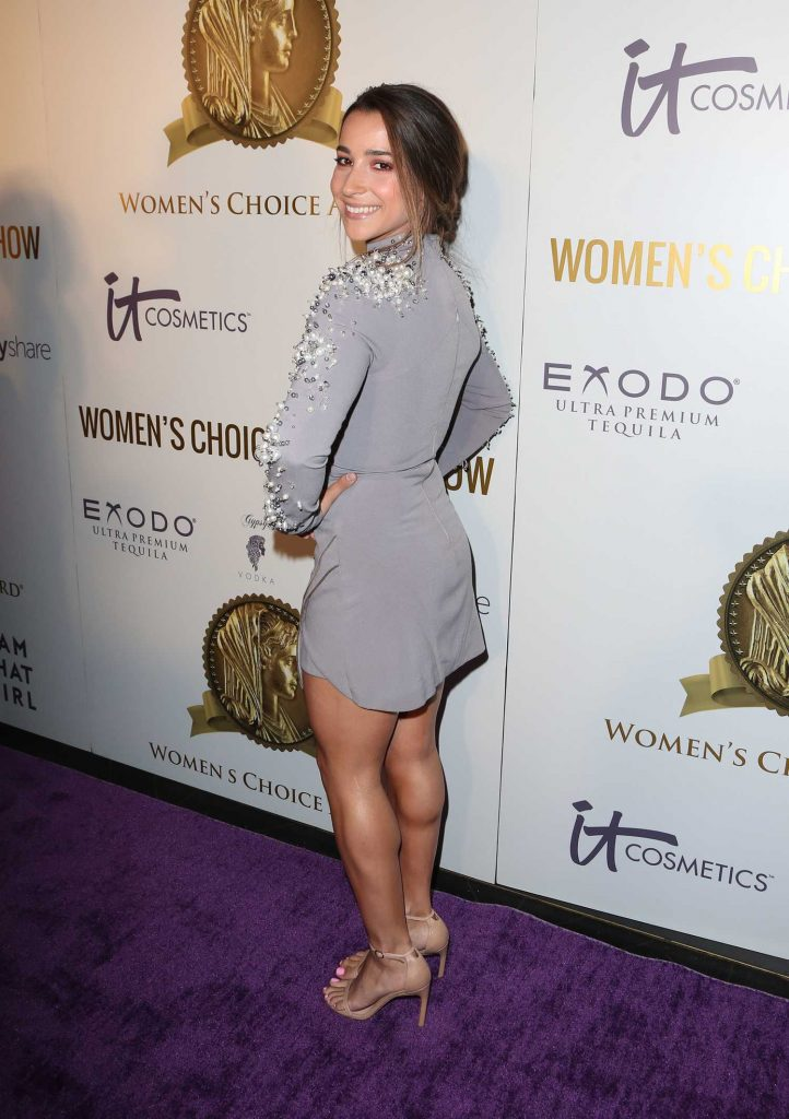 Aly Raisman at the Women's Choice Awards in Los Angeles-4
