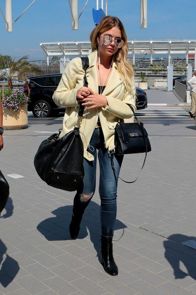 Ashley Benson Was Seen Out in Cannes-2