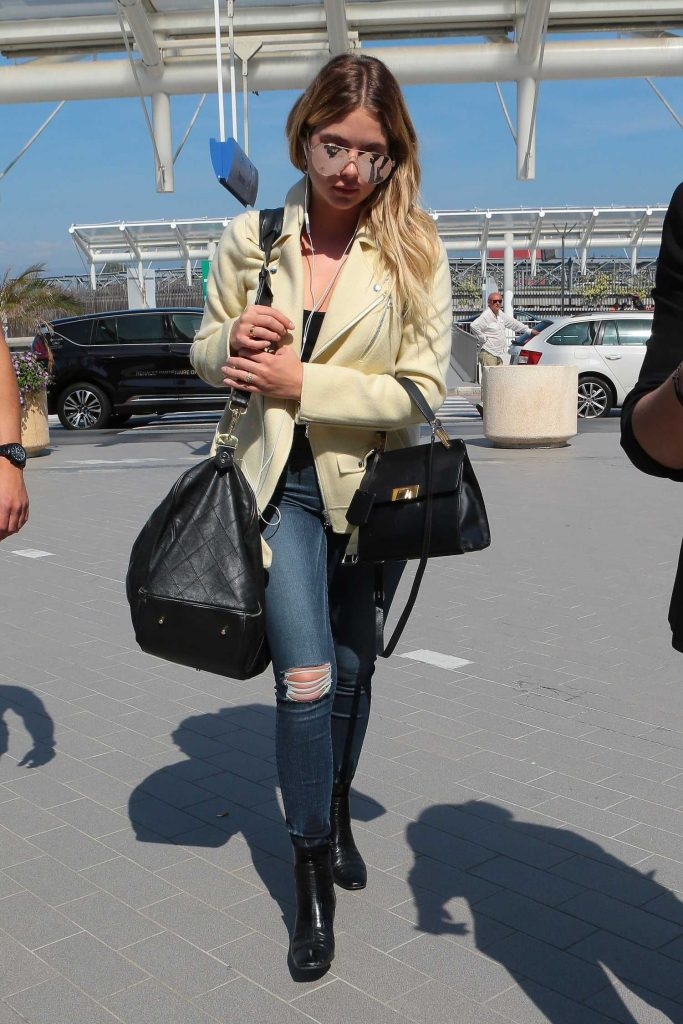 Ashley Benson Was Seen Out in Cannes-3
