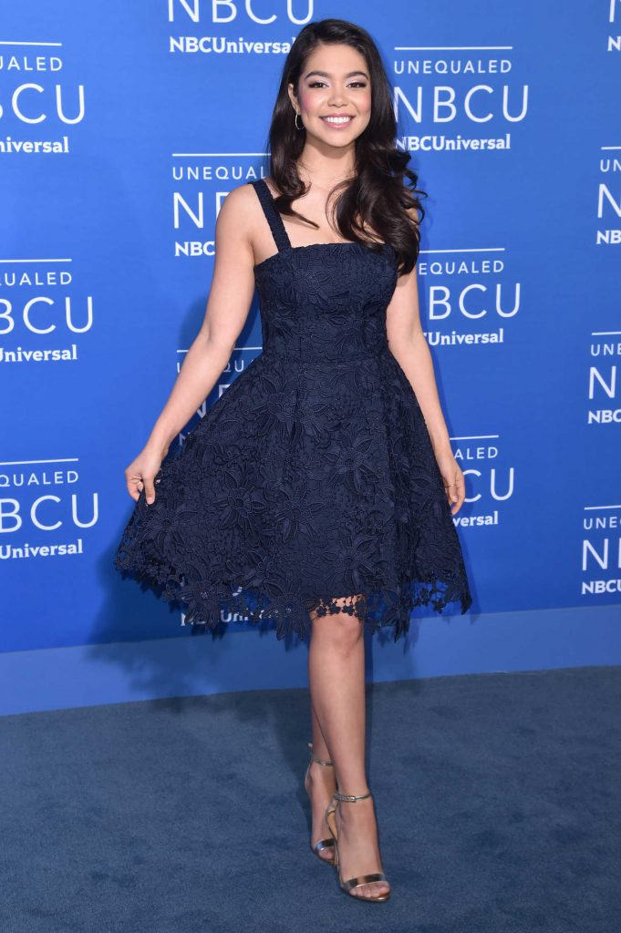 Auli'i Cravalho at the NBCUniversal Upfront in New York City-1