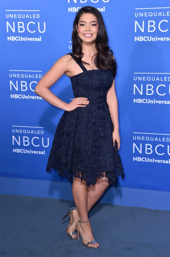 Auli'i Cravalho at the NBCUniversal Upfront in New York City-2
