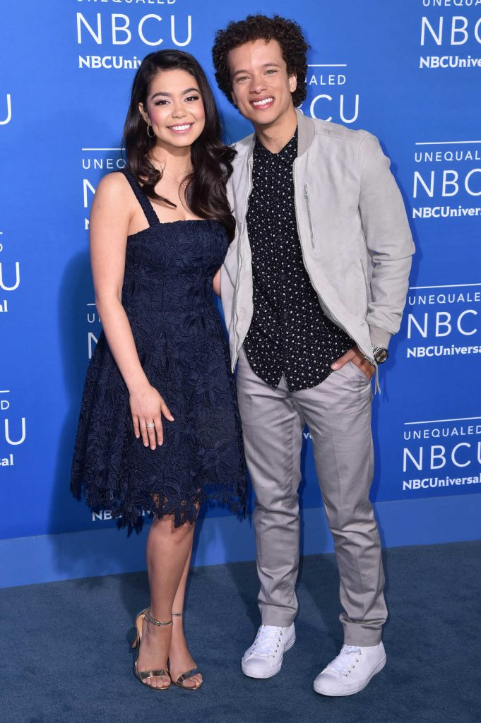 Auli'i Cravalho at the NBCUniversal Upfront in New York City-3