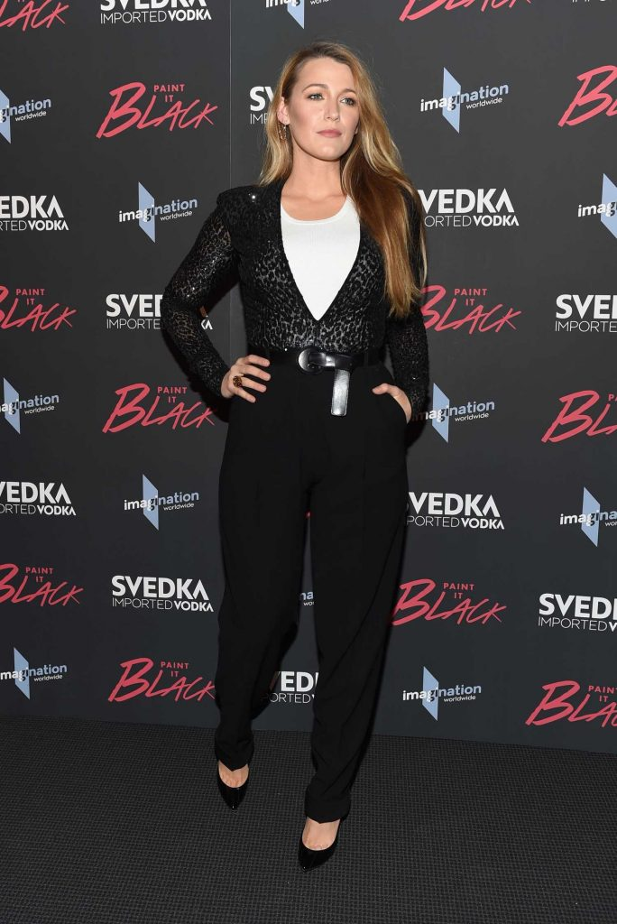 Blake Lively at the Paint it Black Screening in New York-2