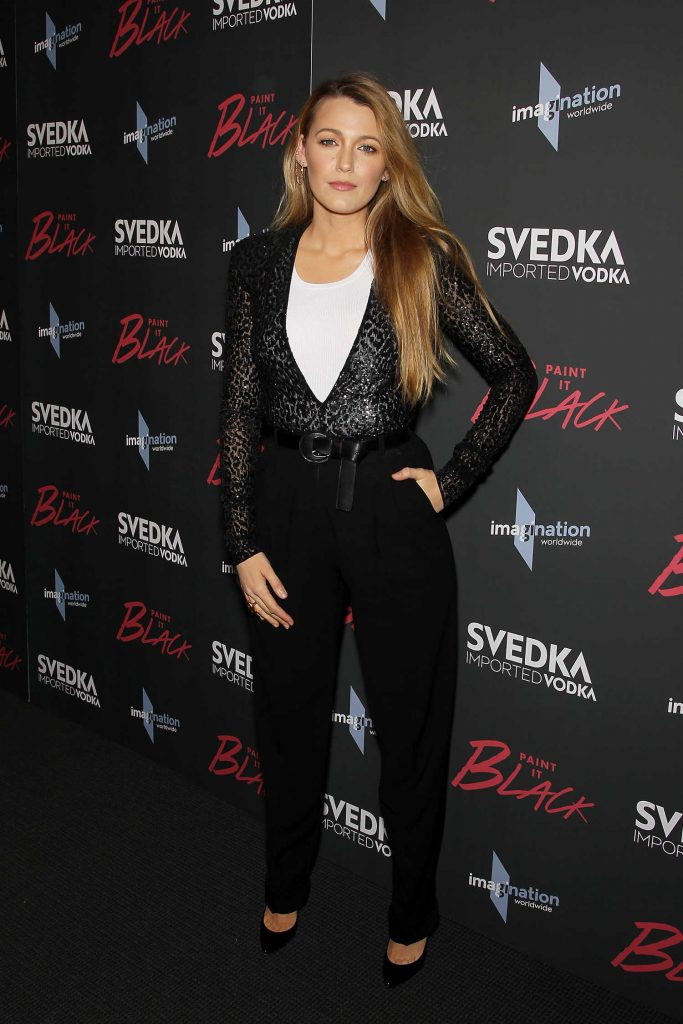 Blake Lively at the Paint it Black Screening in New York-3