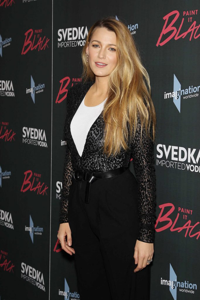 Blake Lively at the Paint it Black Screening in New York-4