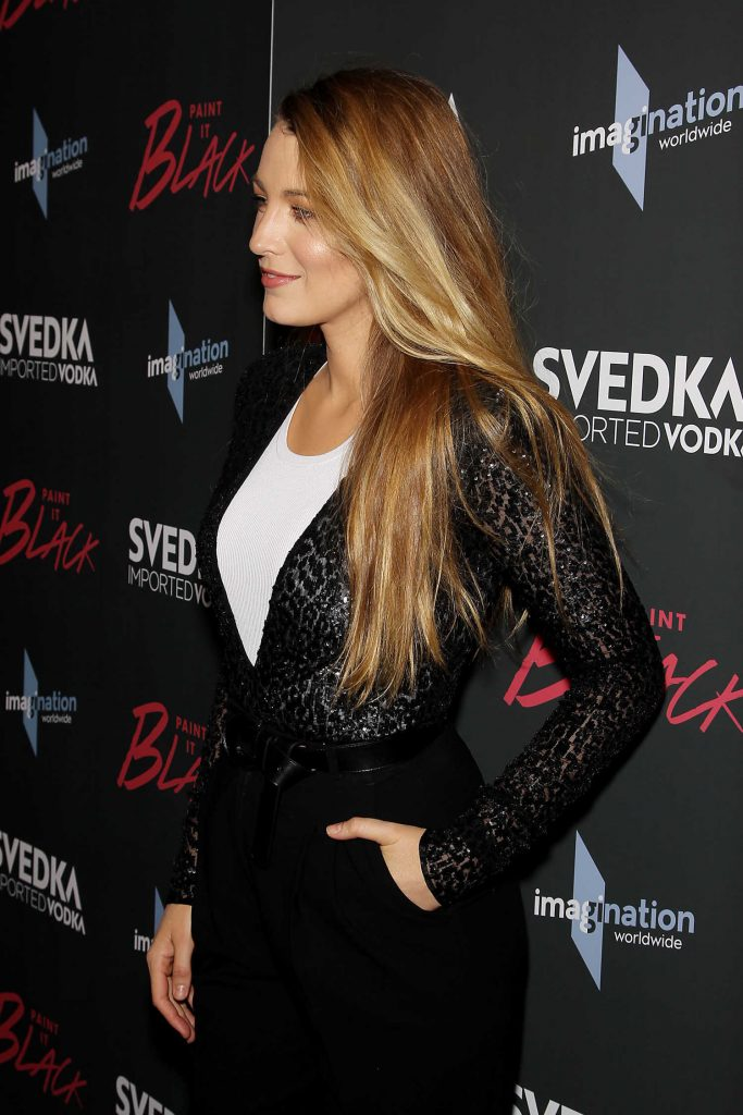 Blake Lively at the Paint it Black Screening in New York-5