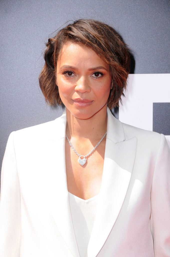 Carmen Ejogo at Sir Ridley Scott Hand and Footprint Ceremony in Hollywood-5