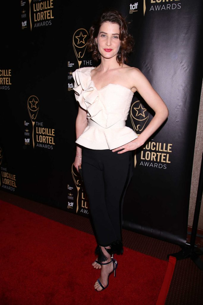 Cobie Smulders at the 32nd Annual Lucille Lortel Awards in New York City-1