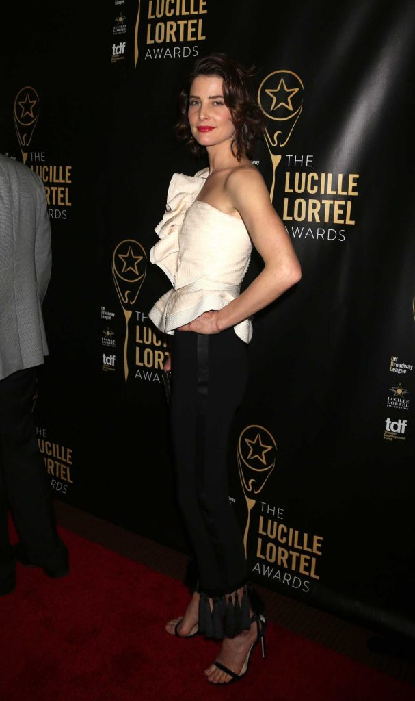 Cobie Smulders at the 32nd Annual Lucille Lortel Awards in New York City-2