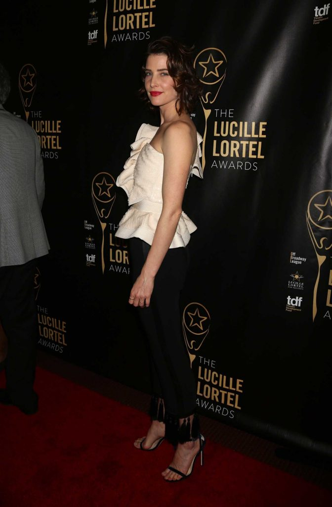 Cobie Smulders at the 32nd Annual Lucille Lortel Awards in New York City-3
