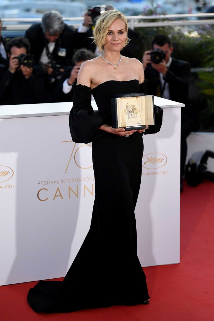 Diane Kruger at the 70th Cannes Film Festival Winners Photocall-1