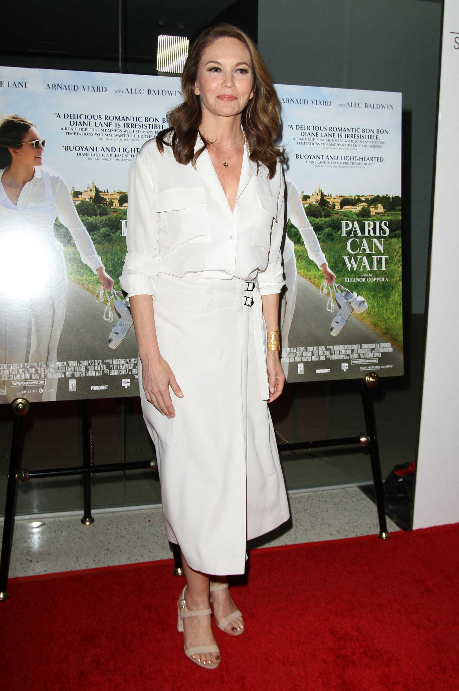 Diane Lane At The Paris Can Wait Premiere In Los Angeles