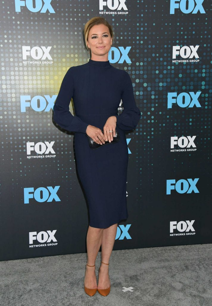 Emily VanCamp at the Fox Upfront Presentation in NYC-1