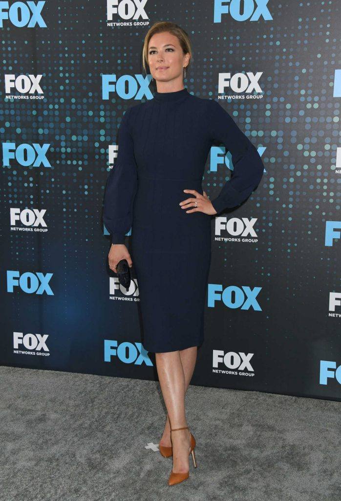 Emily VanCamp at the Fox Upfront Presentation in NYC-2