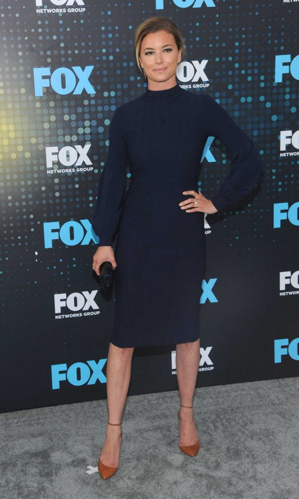 Emily VanCamp at the Fox Upfront Presentation in NYC-3