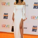 Emmanuelle Chriqui at the Race to Erase MS Gala in Beverly Hills