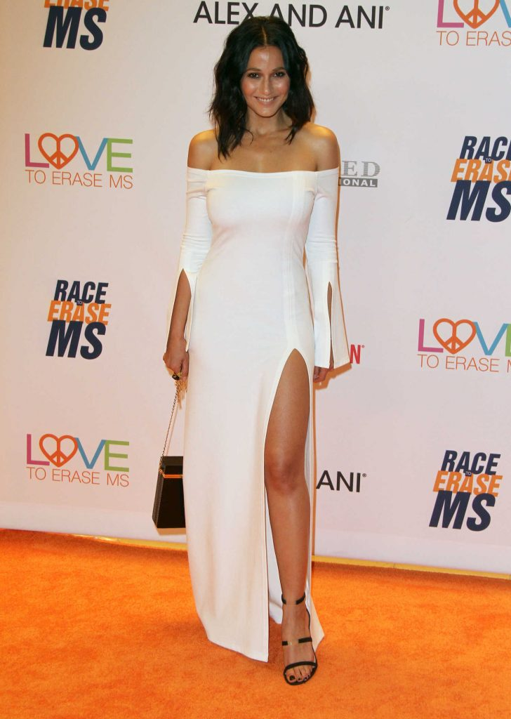 Emmanuelle Chriqui at the Race to Erase MS Gala in Beverly Hills-1