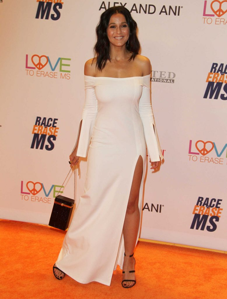 Emmanuelle Chriqui at the Race to Erase MS Gala in Beverly Hills-2