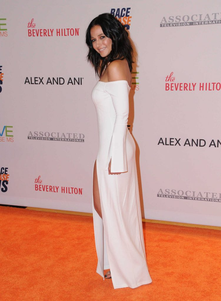 Emmanuelle Chriqui at the Race to Erase MS Gala in Beverly Hills-3