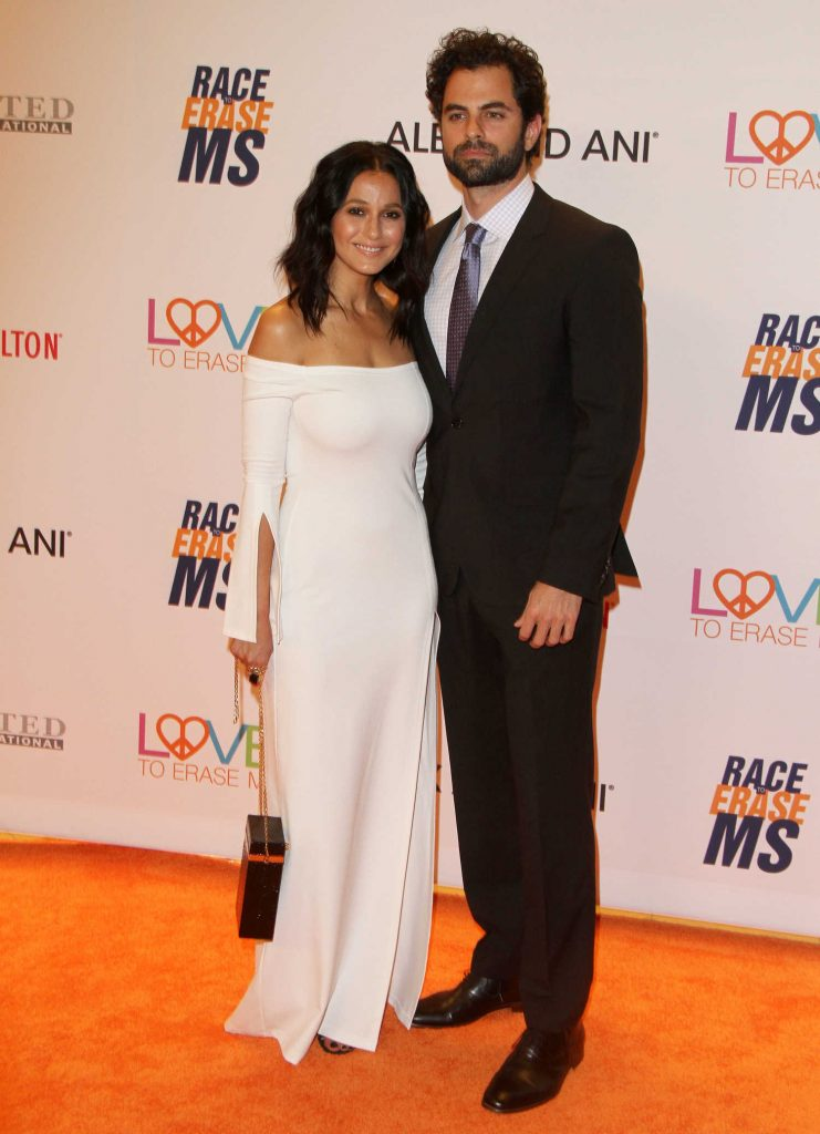 Emmanuelle Chriqui at the Race to Erase MS Gala in Beverly Hills-4