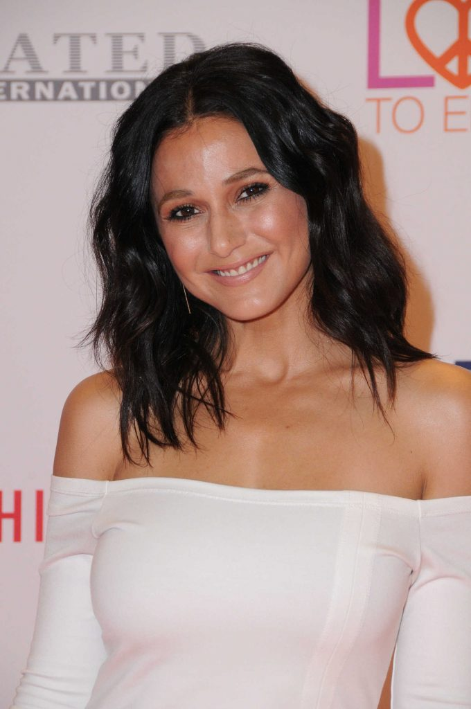 Emmanuelle Chriqui at the Race to Erase MS Gala in Beverly Hills-5