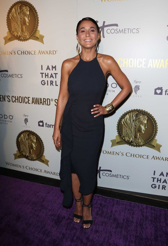 Emmanuelle Chriqui at the Women's Choice Awards in Los Angeles-1