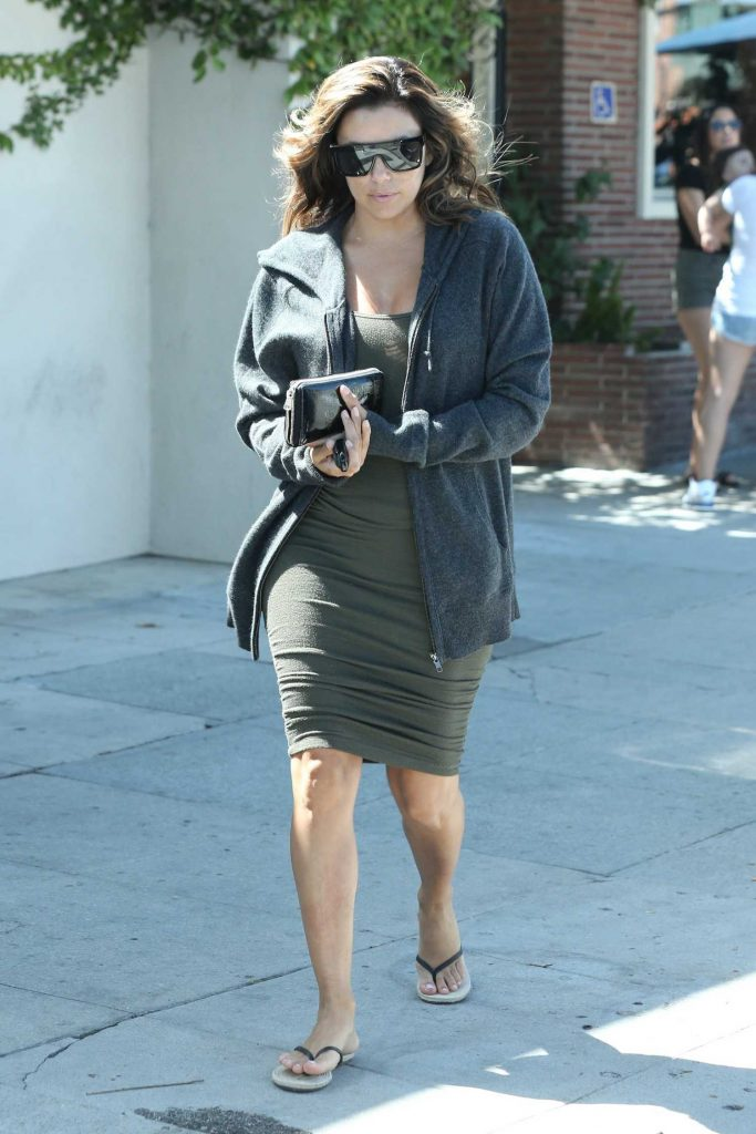 Eva Longoria Out for a Lunch in Hollywood-2