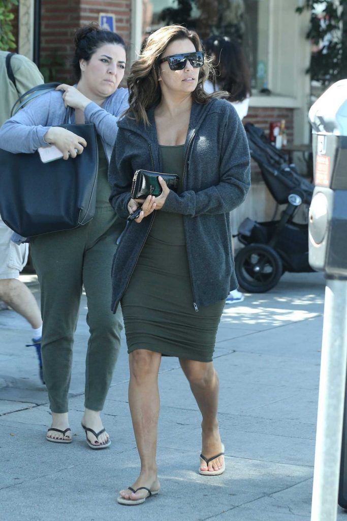 Eva Longoria Out for a Lunch in Hollywood-3
