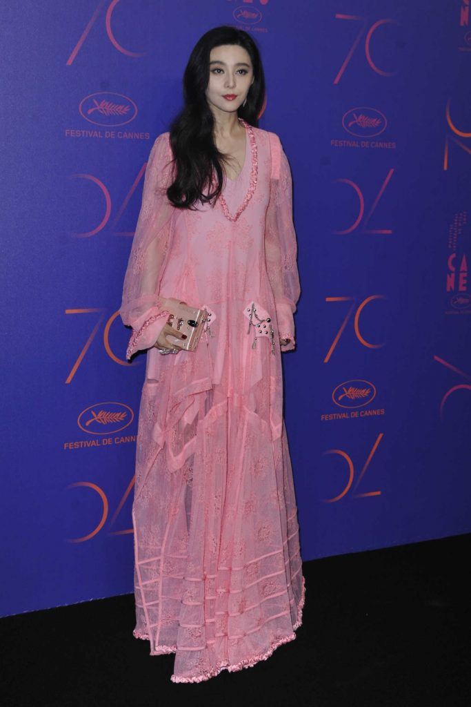 Fan Bingbing at the 70th Anniversary Dinner During the 70th Cannes Film Festival-2