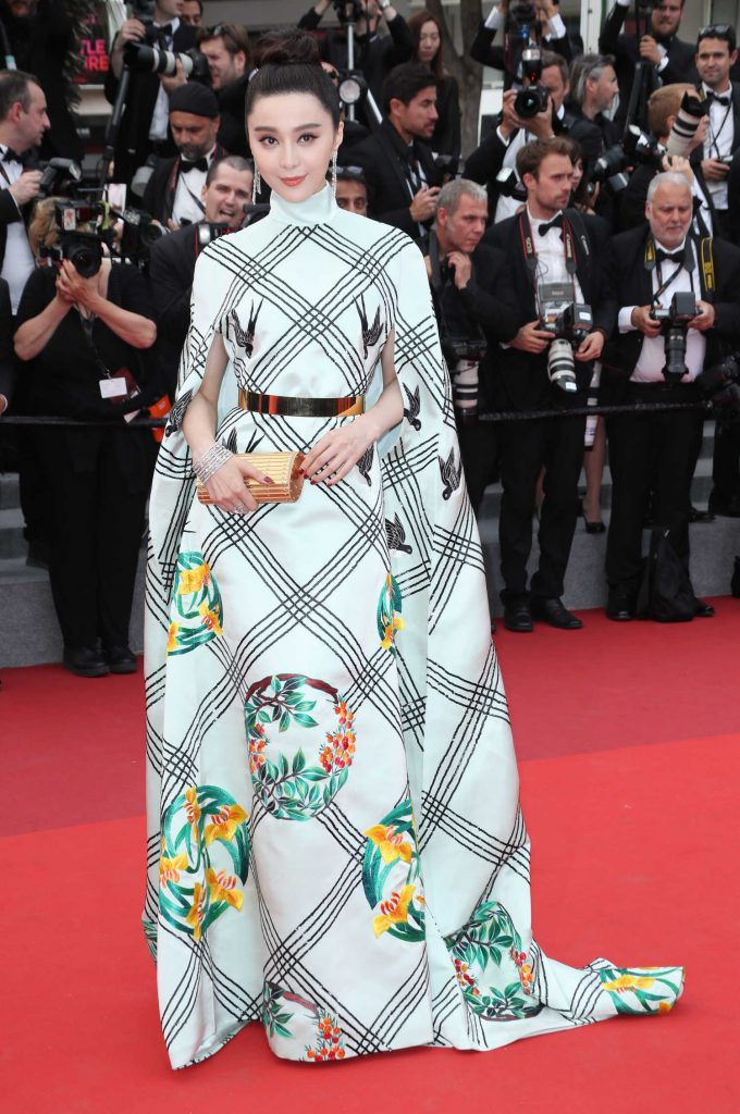 Fan Bingbing at The Double Lover Premiere During the 70th Annual Cannes Film Festival-1