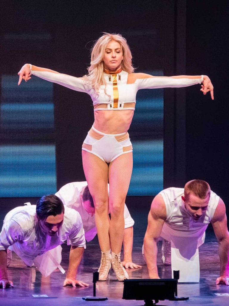 Julianne Hough Performs in Orlando-1