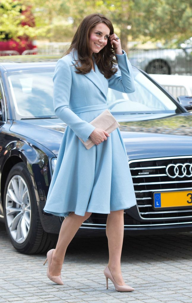 Kate Middleton Leaves the City Museum in Luxembourg-1