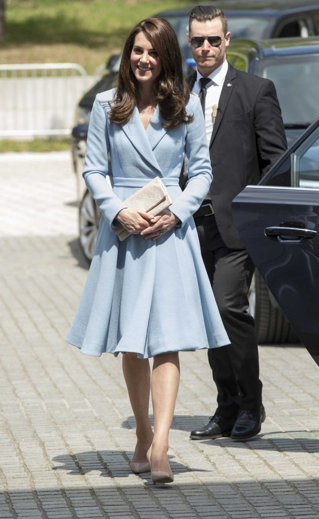 Kate Middleton Leaves the City Museum in Luxembourg-2